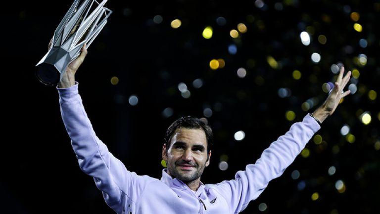 Федерер спечели класиката срещу Надал и вдигна титлата в Шанхай!