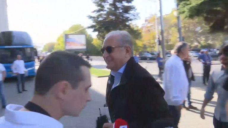 """Спас Русев пристигна на """"Васил Левски"""" за дербито"""