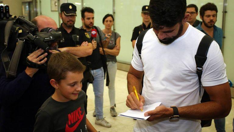 Диего Коща взе номер 18 в Атлетико