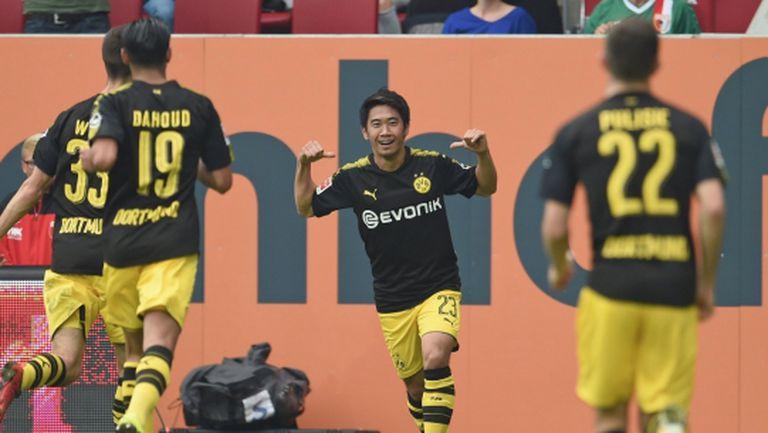 Изящни голове донесоха нов триумф на Дортмунд (видео)