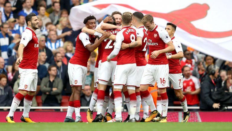 Спокойна победа на Арсенал (видео)