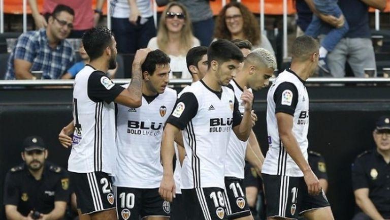 Валенсия излезе на трета позиция след страхотен мач с Атлетик Билбао (видео)
