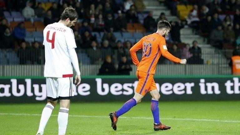 Холандия остана в играта, но само на теория (видео)