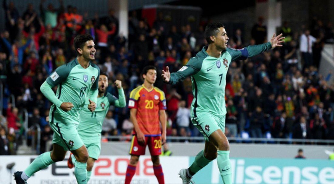 Резервата Кристиано прати Португалия на финал (видео)