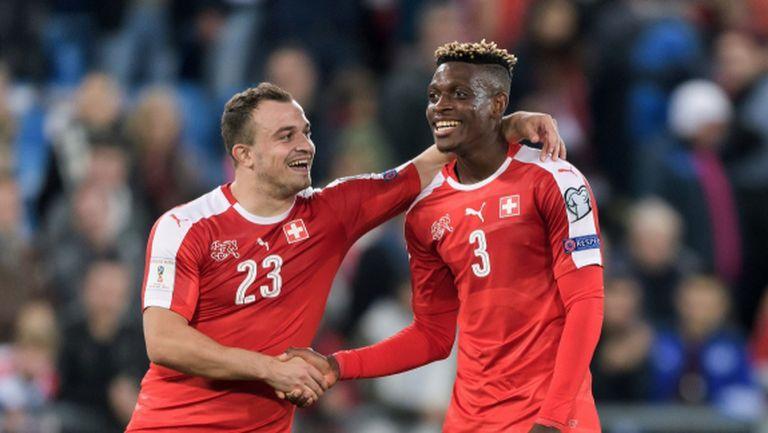 Швейцария наниза пет, но най-важният мач предстои (видео)
