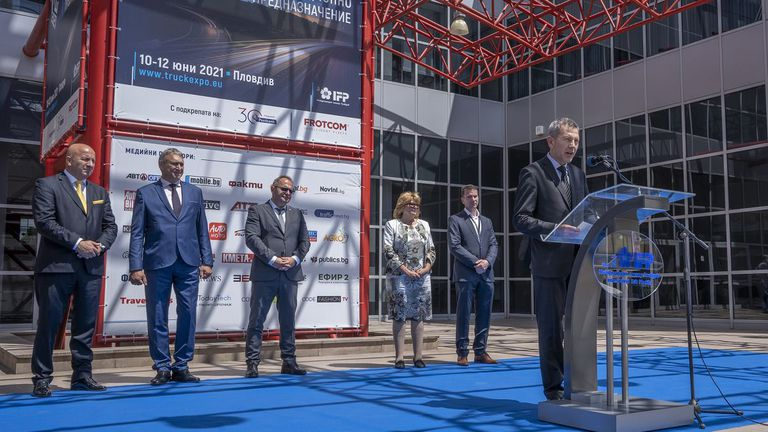 TRUCK EXPO 2021 отвори врати в Пловдив, 20 премиери в тежката автомобилна индустрия