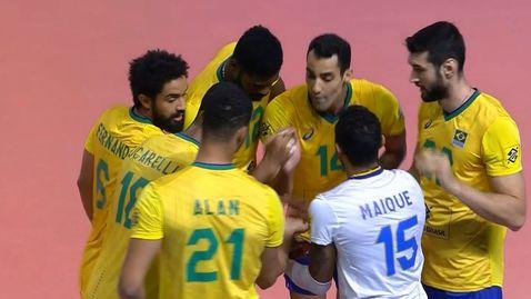 България загуби с 0:3 гейма от Бразилия в Лигата на нациите