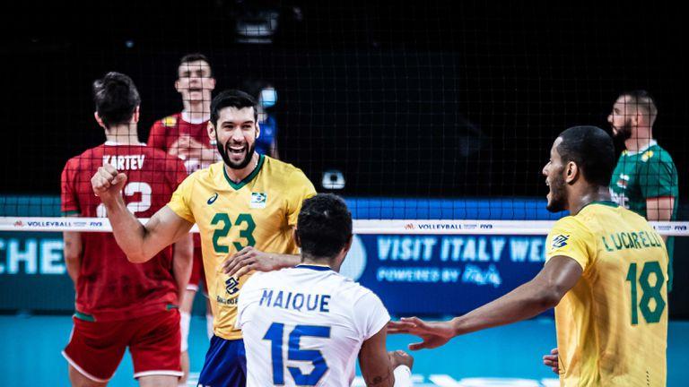 Бразилия се оказа твърде силна за България 🇧🇬🇧🇷🏐
