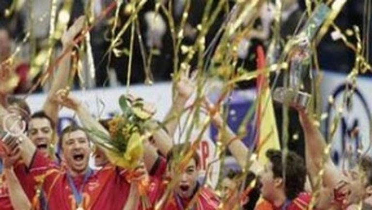 Испания е изненадващия шампион на Евроволей 2007