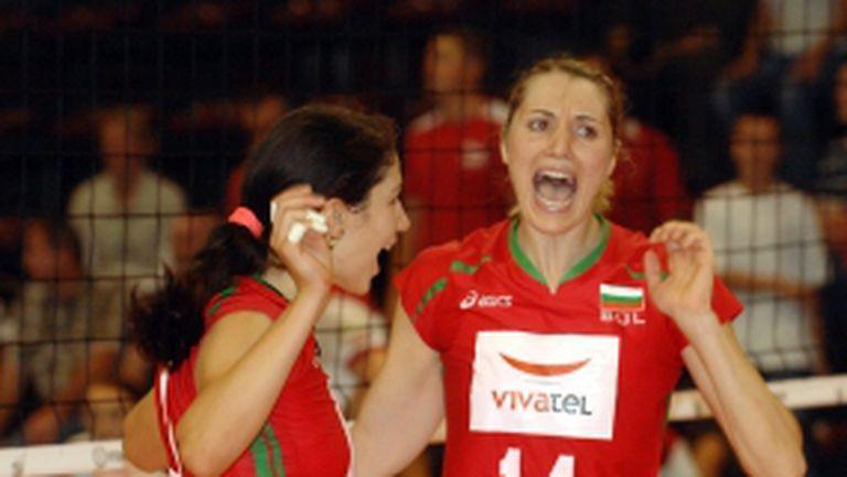 България загуби с 2:3 от европейските шампионки