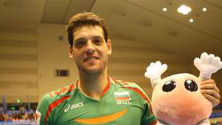Пламен Константинов MVP за победата на България