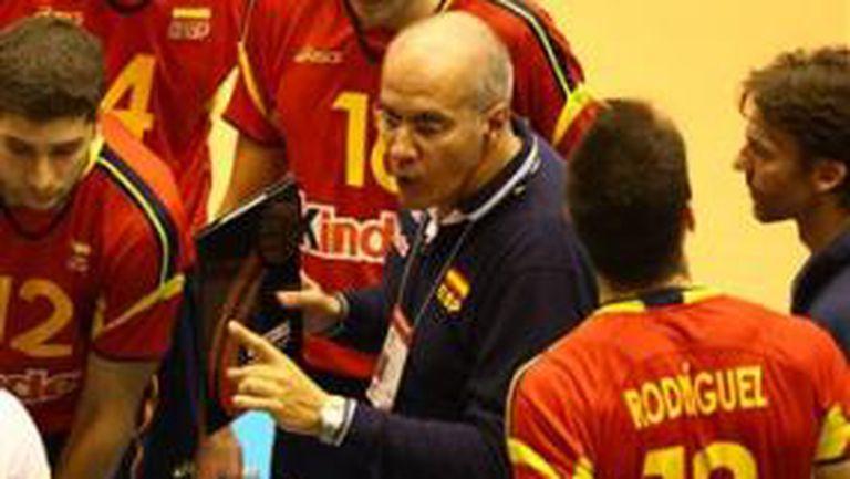 Треньорът на Испания: Българите не ни позволиха да играем