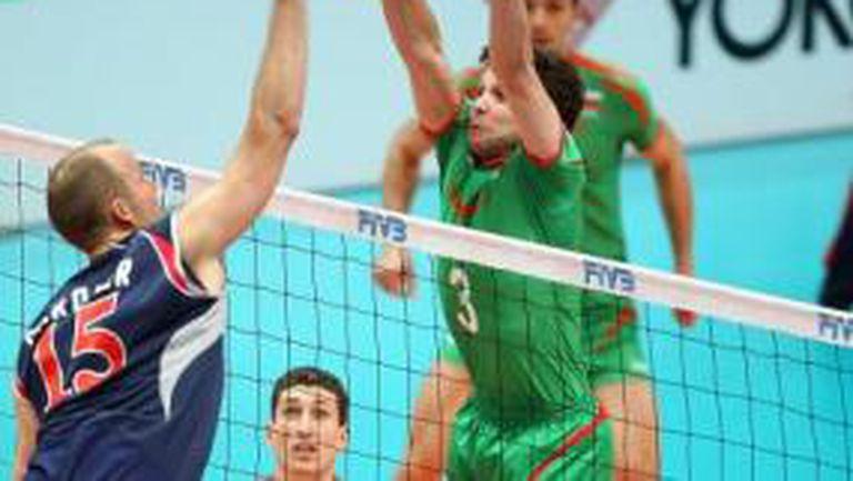 България с първа загуба на Световната купа, губим от САЩ в драма