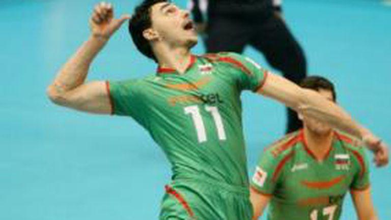Владо Николов избран за MVP за победата на България