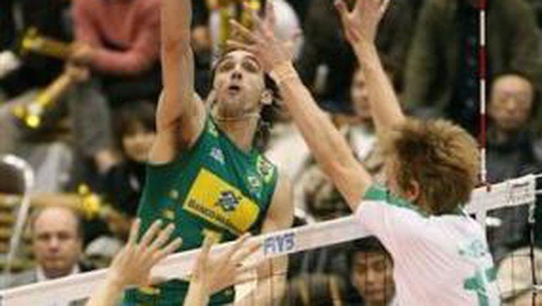 Бразилия нокаутира Австралия с 3:0