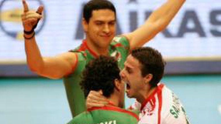 България на крачка от олимпиадата, сразихме Русия с 3:2