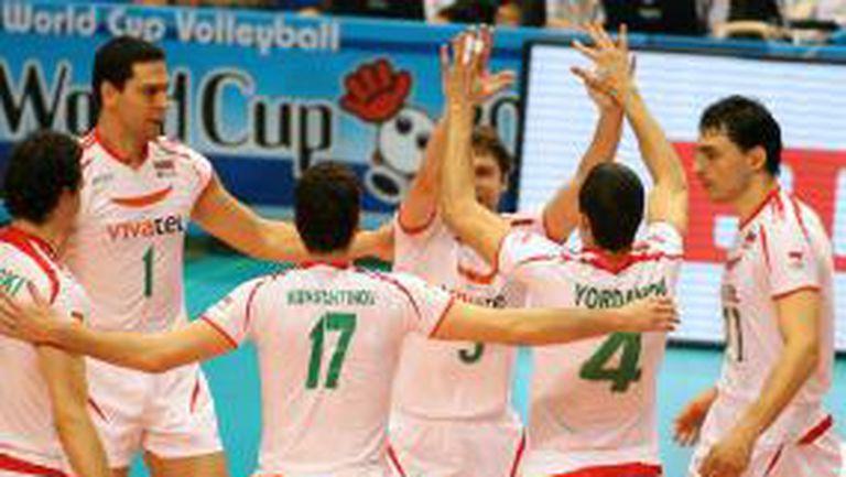 България на победа от Пекин 2008 след успех над Япония с 3:1