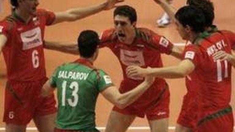 Волейболните герои на България се прибират във вторник