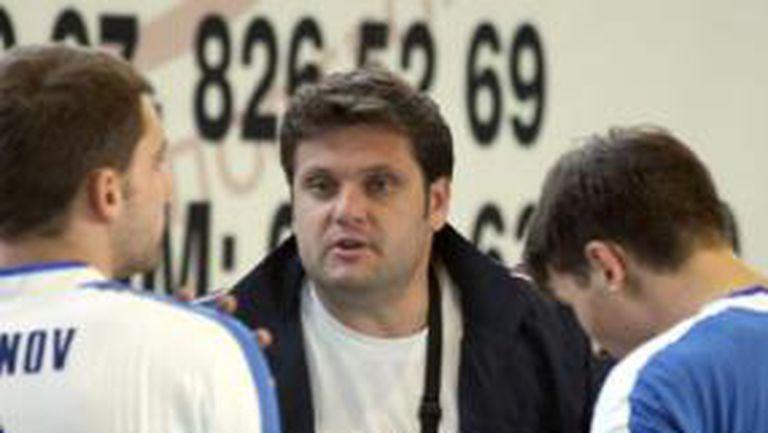 Мартин Стоев: С Алексиев и Братоев Левски-Сиконко ще стане шампион