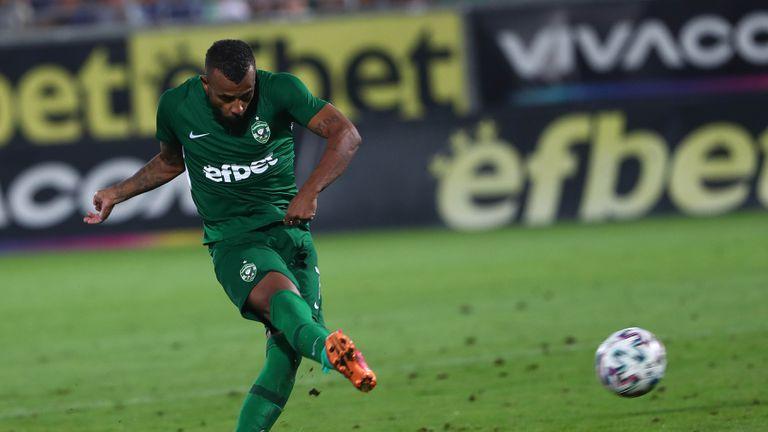 Алекс Сантана направи резултата 3:0 в полза на Лудогорец срещу Царско село