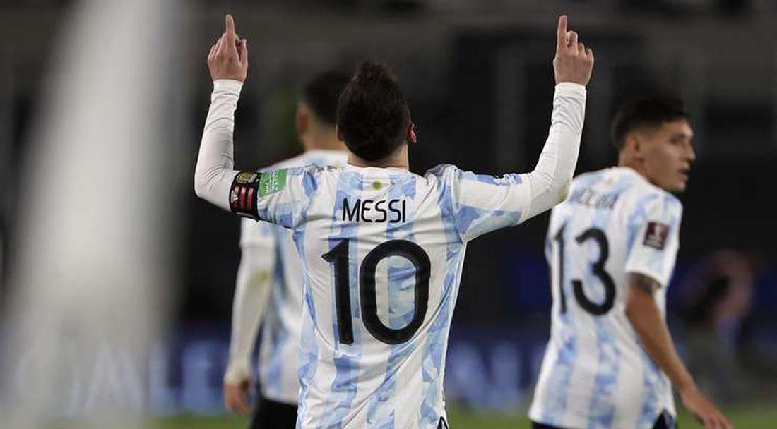 Рецитал на Меси донесе победата на Аржентина над Боливия