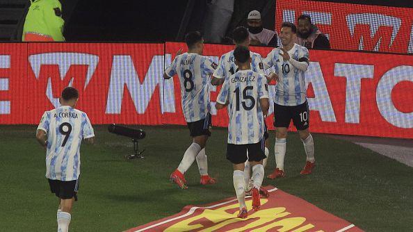 Аржентина - Боливия 3:0