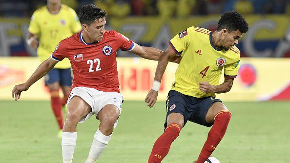 Колумбия - Чили 3:1