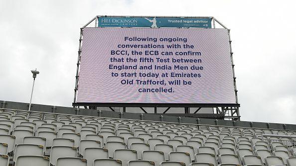 Финалният пети Тест между Англия и Индия беше отложен заради COVID-19