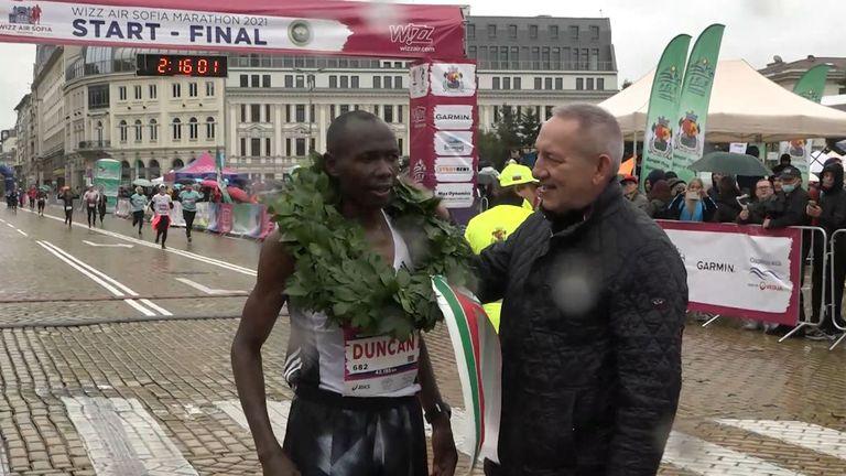 Дънкан Коеч спечели маратона на София при мъжете