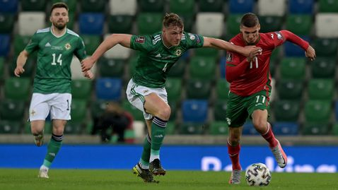 Познат съдия от Беларус ще свири мача между България и Северна Ирландия