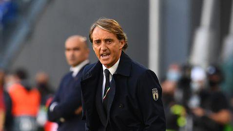 Това беше Италия от Европейското първенство, горд е Манчини
