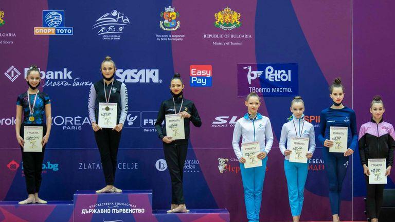 Савина Славова спечели титлата в многобоя при девойки старша възраст