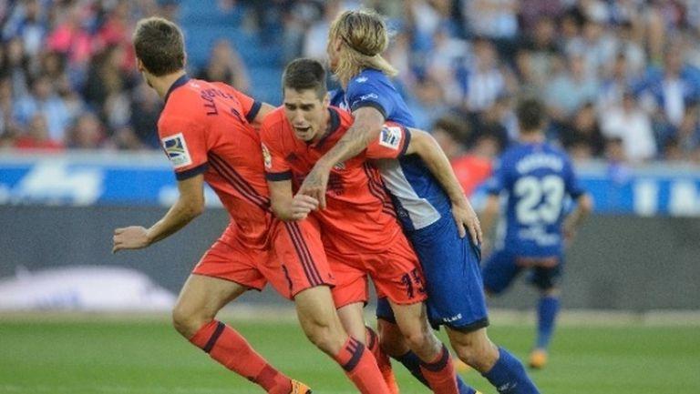 Реал Сосиедад спечели по-малкото баско дерби (видео)