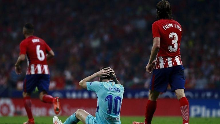 Атлетико спря суперсерията на Барса (видео+галерия)