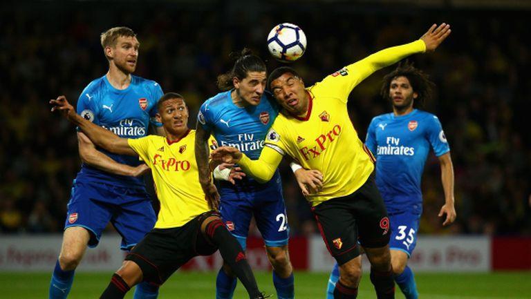 Капитанът на Уотфорд към Арсенал: Въпросът е да имаш топки
