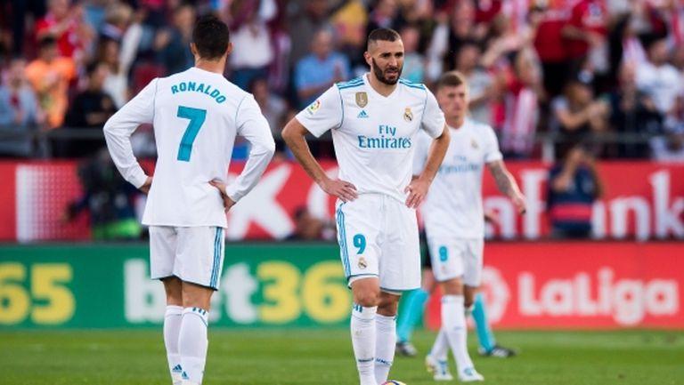 Реал Мадрид се срина шокиращо в Каталуня, Барса е далеч напред (видео+галерия)