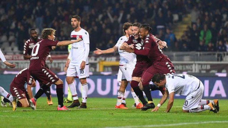 Торино обърна Каляри и прекъсна серия без победа