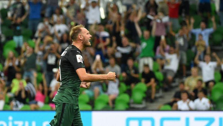 Швед стана рекордьор по изиграни минути за Краснодар