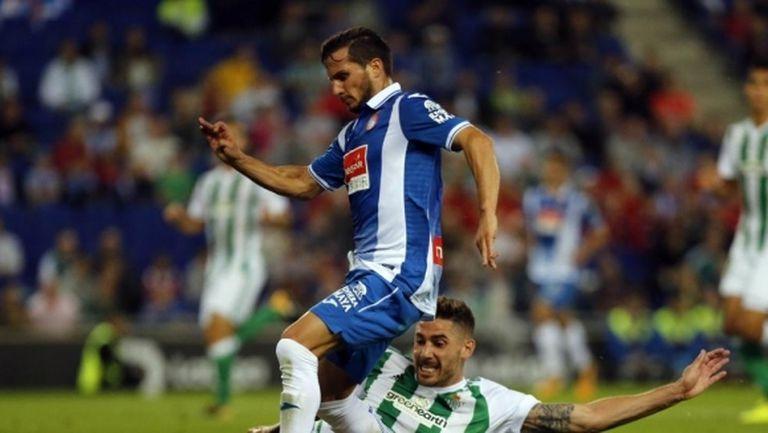 Жерард Морено донесе трите точки на Еспаньол срещу Бетис