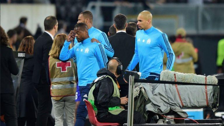 Марсилия с официално съобщение след случката