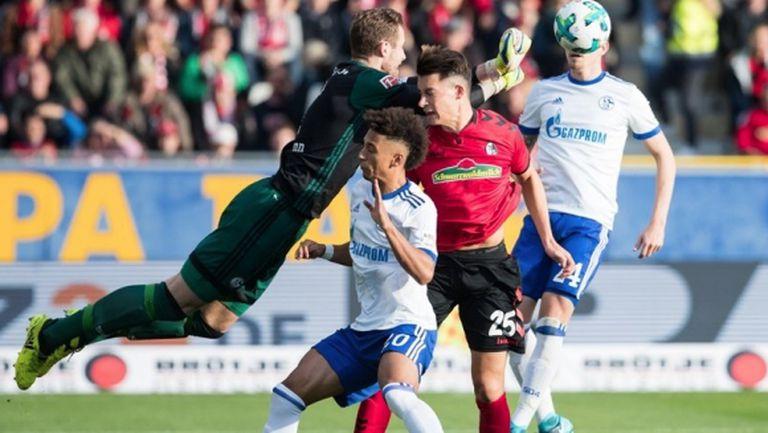 Лош късмет за Фрайбург: потрошиха гредите, потрошиха си и треньора