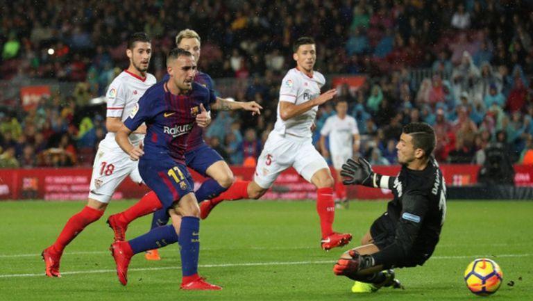 Барселона сломи Севиля в мач №600 на Меси (видео + галерия)