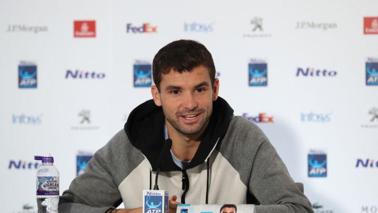 Григор Димитров пред Sportal.bg: Специално е да съм сред най-добрите