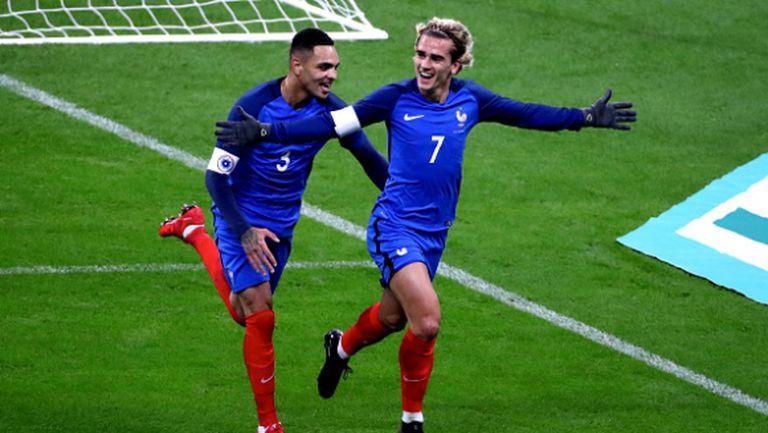Гризман и Жиру носят победа на Франция (видео)
