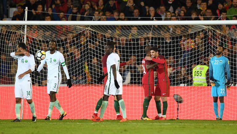 Португалия разби предстоящия ни съперник (видео)