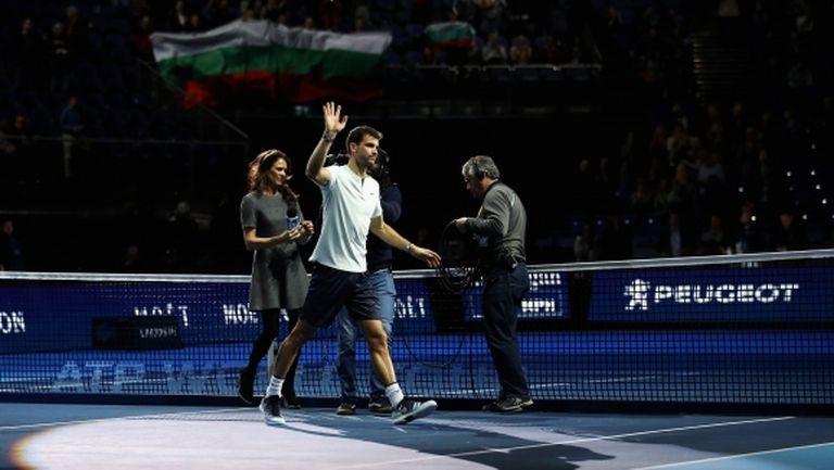 Григор Димитров със страхотен първи успех на Финалите на АТР!