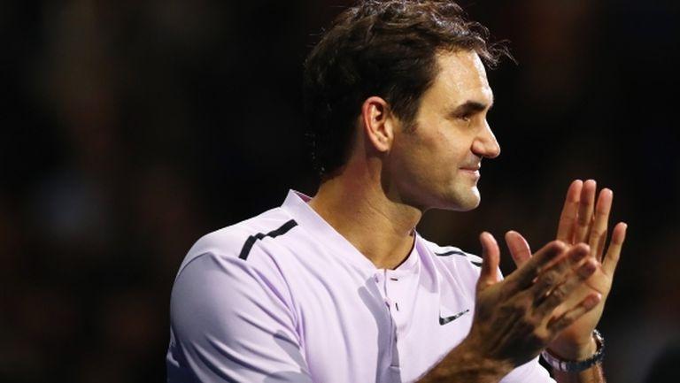 Федерер: Бях нерешителен на моменти