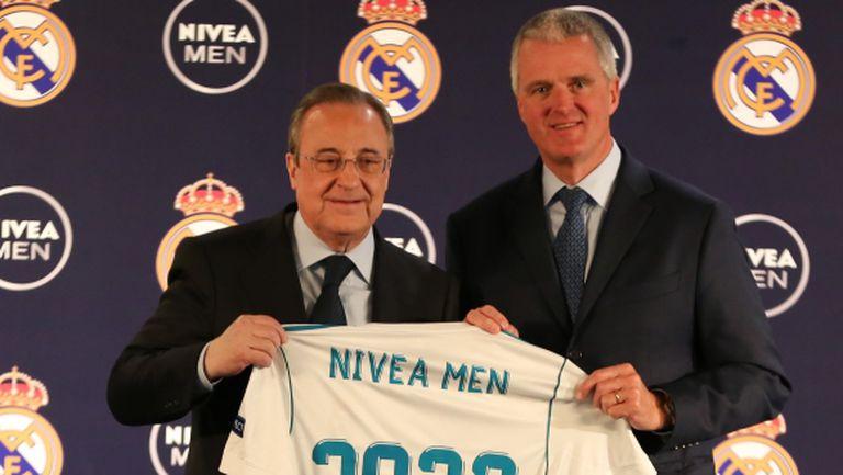Реал Мадрид и Nivea Men си стиснаха ръцете за дългогодишно сътрудничество