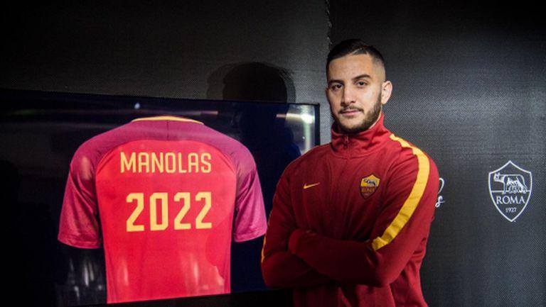 Официално: Манолас преподписа с Рома