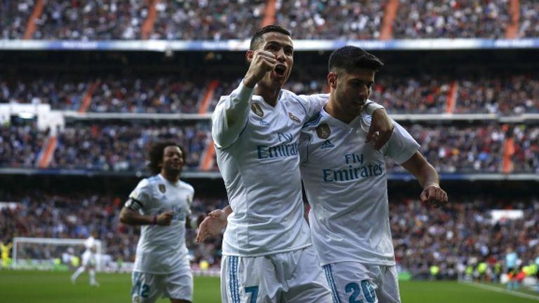 Реал Мадрид напомни за себе си с гръм и трясък (видео + галерия)